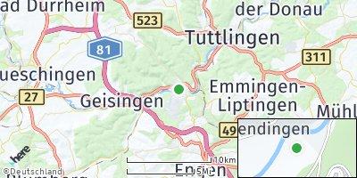 Google Map of Immendingen