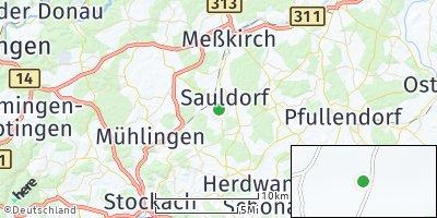 Google Map of Sauldorf