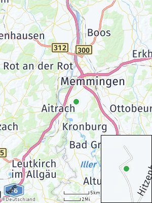 Here Map of Hitzenhofen