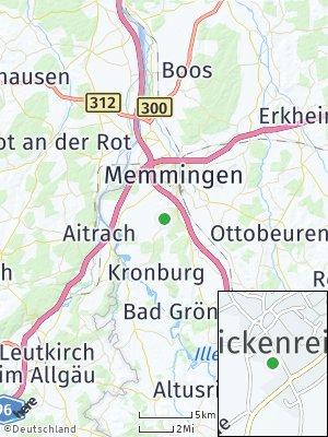 Here Map of Dickenreishausen