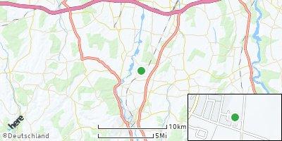 Google Map of Rieden bei Kaufbeuren