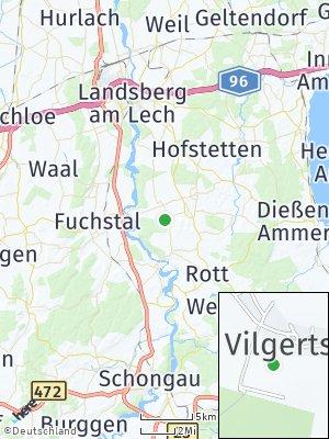 Here Map of Vilgertshofen