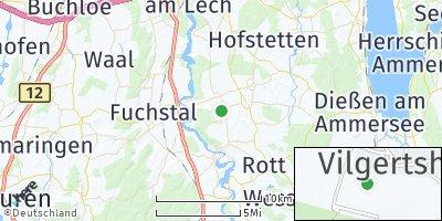 Google Map of Vilgertshofen
