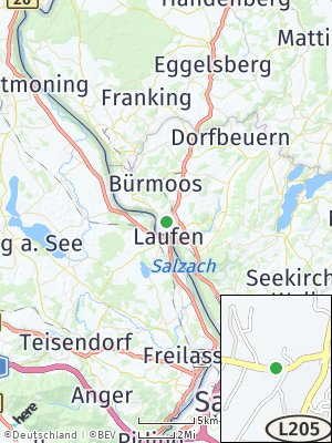 Here Map of Laufen