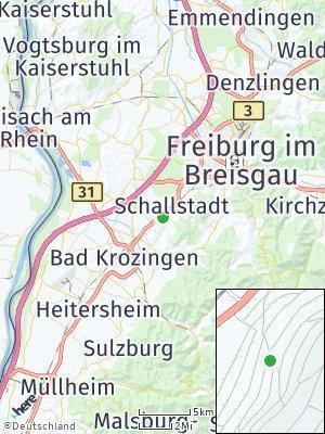 Here Map of Schallstadt