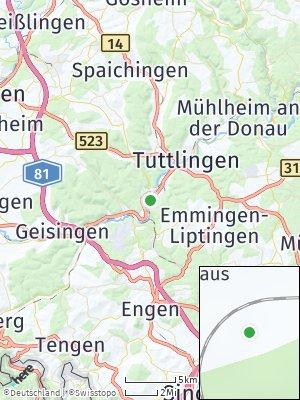 Here Map of Möhringen