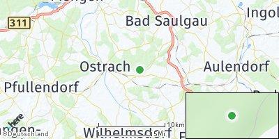 Google Map of Hoßkirch