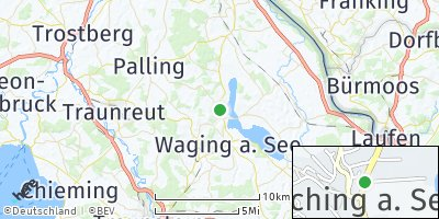 Google Map of Taching am See