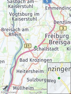 Here Map of Munzingen