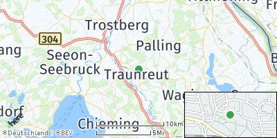 Google Map of Traunreut