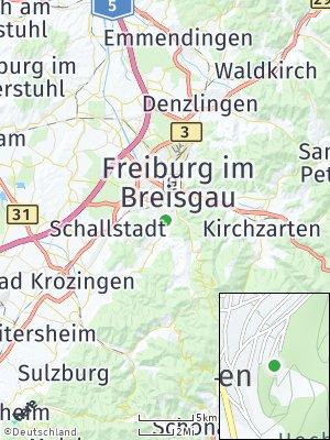 Here Map of Merzhausen