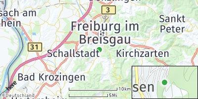 Google Map of Merzhausen
