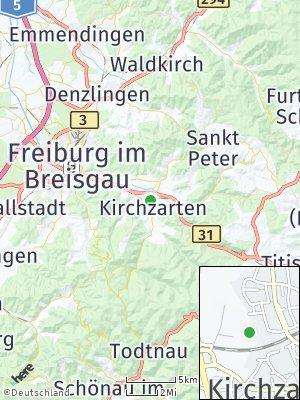 Here Map of Kirchzarten