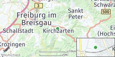 Google Map of Kirchzarten