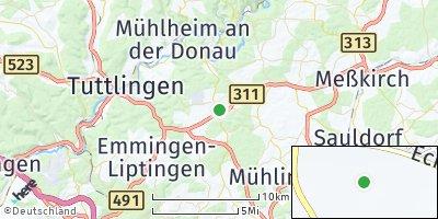 Google Map of Neuhausen ob Eck