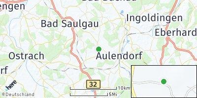 Google Map of Ebersbach-Musbach