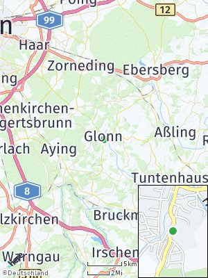 Here Map of Glonn