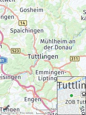 Here Map of Tuttlingen