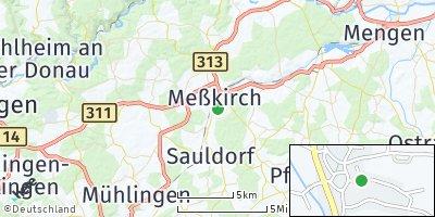 Google Map of Meßkirch