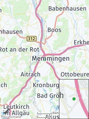 Here Map of Buxach bei Memmingen