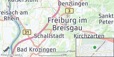 Google Map of Sankt Georgen