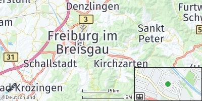 Google Map of Littenweiler