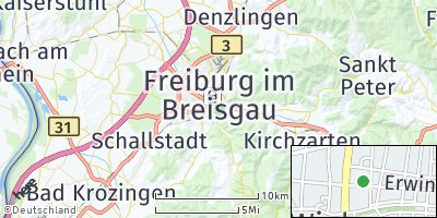 Google Map of Wiehre