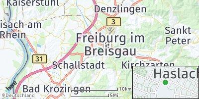 Google Map of Haslach