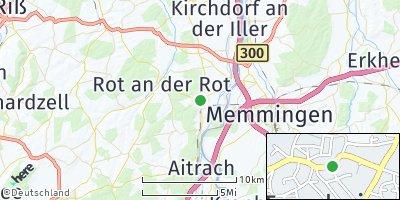Google Map of Tannheim