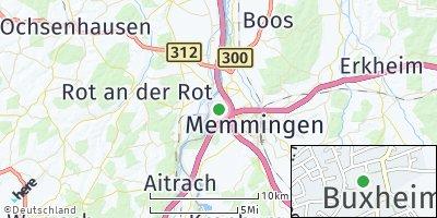 Google Map of Buxheim bei Memmingen