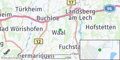 Google Map of Waal