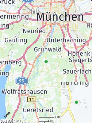 Here Map of Straßlach-Dingharting