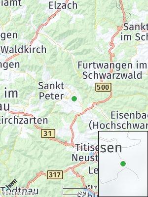 Here Map of Sankt Märgen