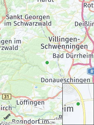 Here Map of Tannheim