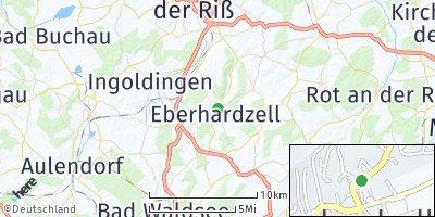 Google Map of Eberhardzell
