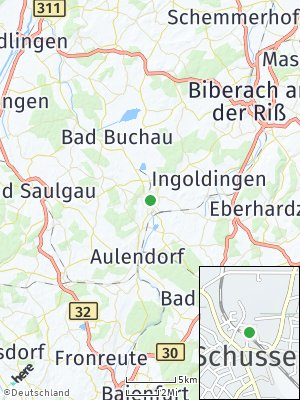 Here Map of Bad Schussenried