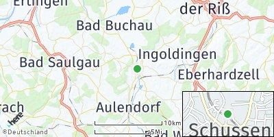 Google Map of Bad Schussenried