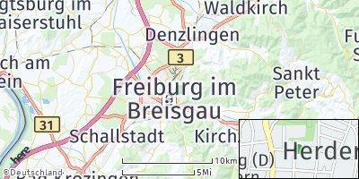 Google Map of Herdern