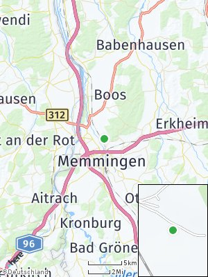 Here Map of Grünenfurt