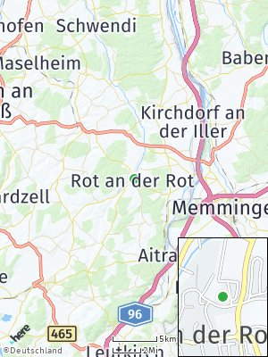 Here Map of Rot an der Rot