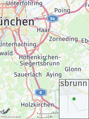 Here Map of Höhenkirchen-Siegertsbrunn