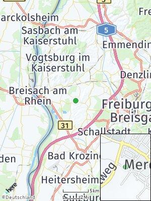 Here Map of Merdingen