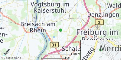 Google Map of Merdingen