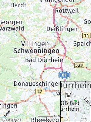 Here Map of Bad Dürrhe