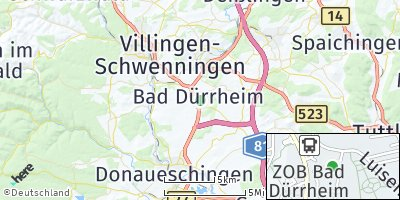 Google Map of Bad Dürrhe