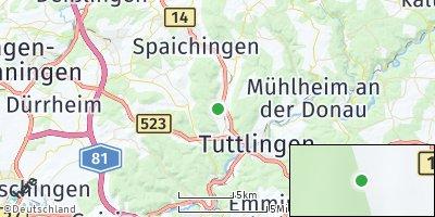 Google Map of Rietheim-Weilheim
