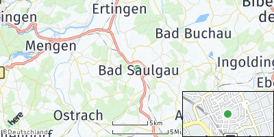 Google Map of Bad Saulgau