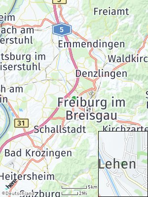 Here Map of Lehen