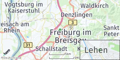 Google Map of Lehen