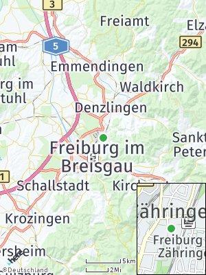 Here Map of Zähringen